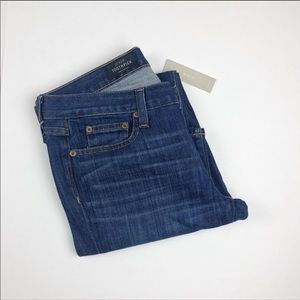 J. Crew The Toothpick Ankle Jeans Size 30